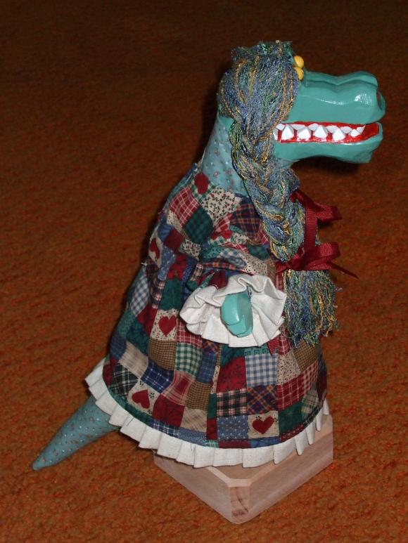 Little Crocodile on the Prairie for sale now on Etsy