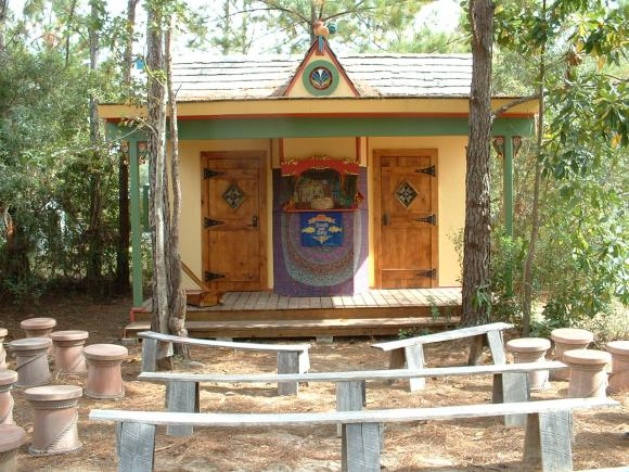 Our theater at Louisiana Renfest